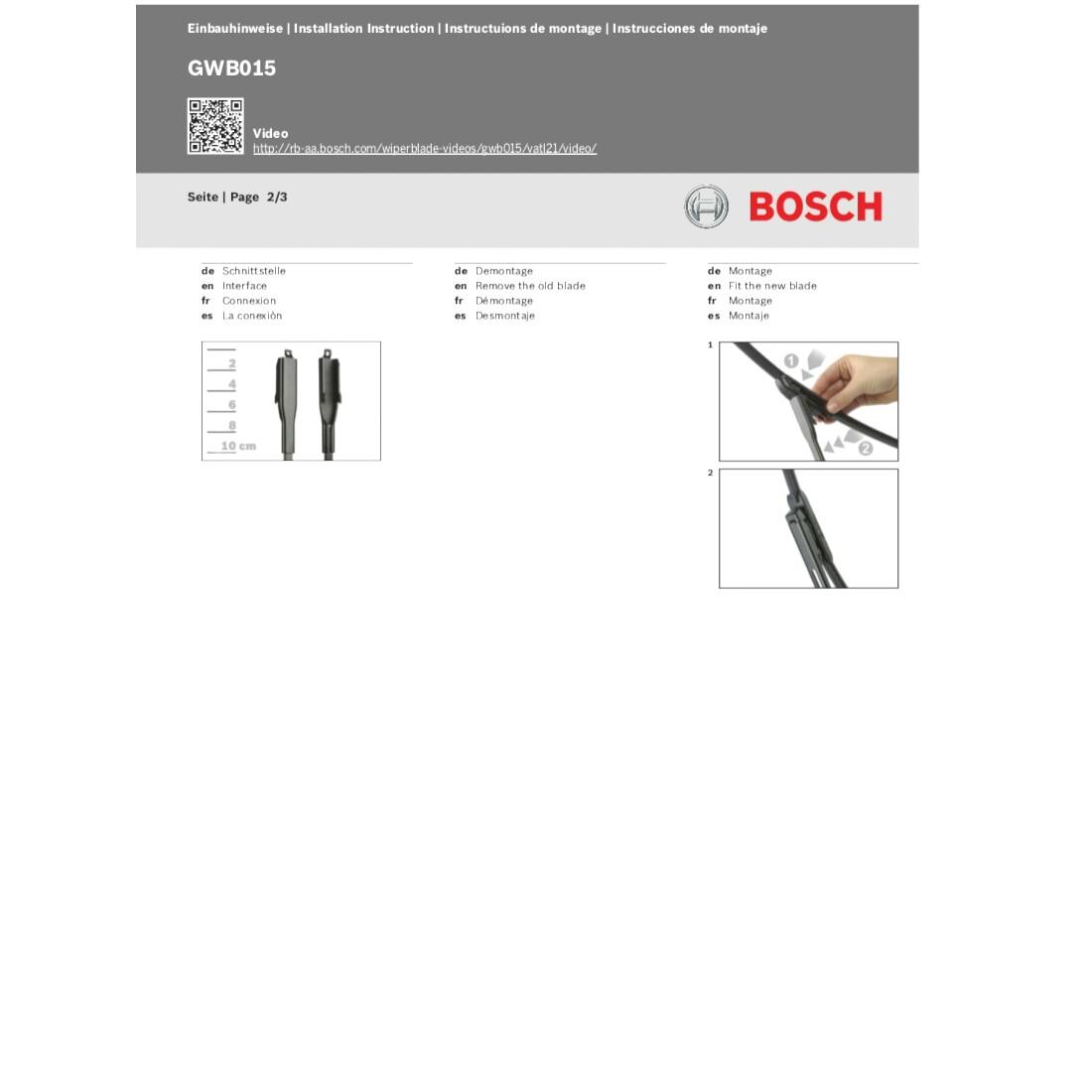 bosch scheibenwischer aerotwinmulti clip am 466s 650 380 mm fiat 500l opel ebay. Black Bedroom Furniture Sets. Home Design Ideas