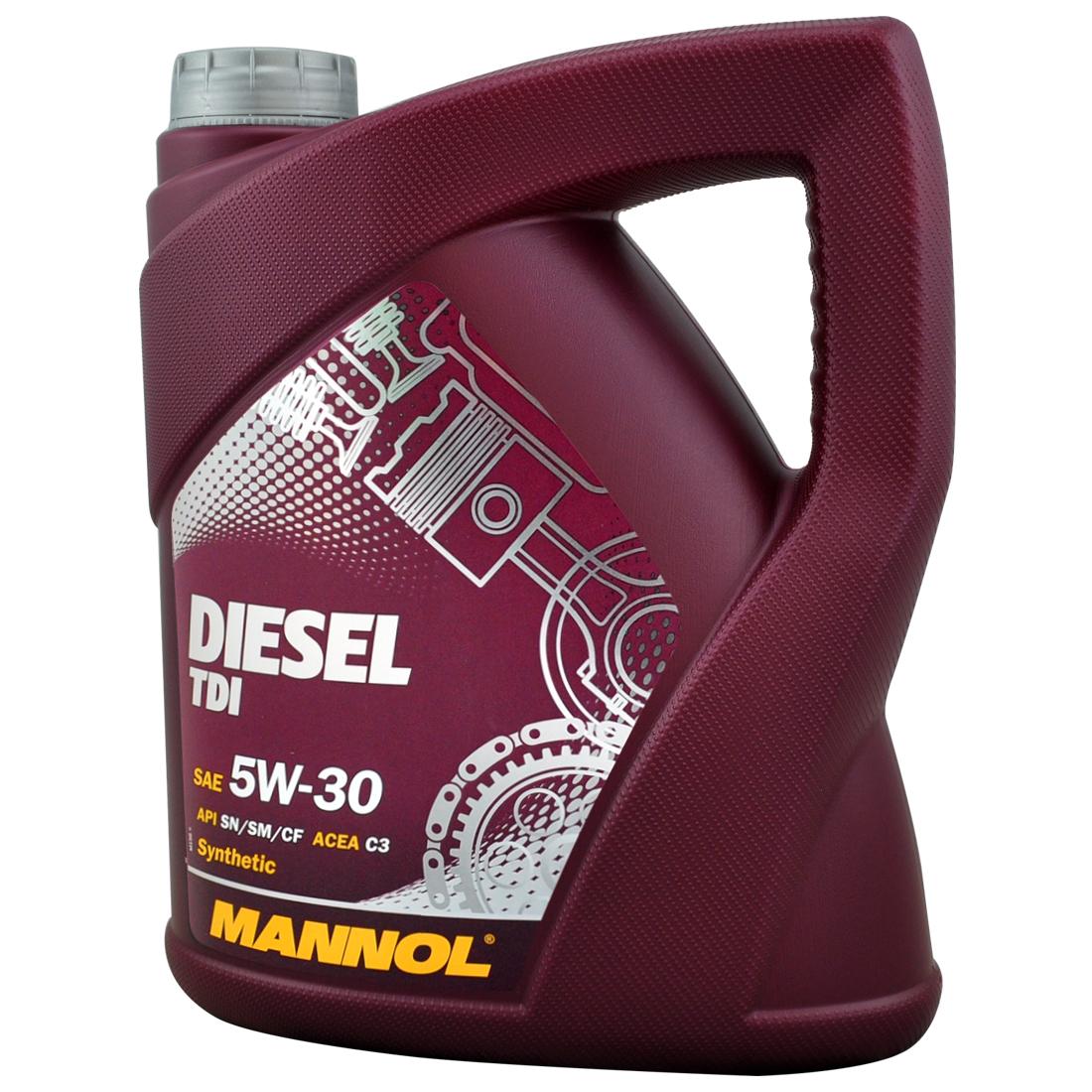 10 liter mannol diesel tdi 5w30 motor l longlife lfilter. Black Bedroom Furniture Sets. Home Design Ideas