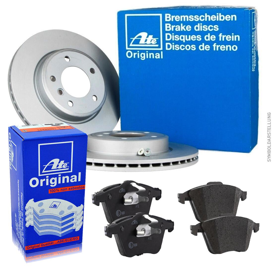 ate bremsen set 330mm ceramic bel ge hinten audi a6 c7 a7. Black Bedroom Furniture Sets. Home Design Ideas